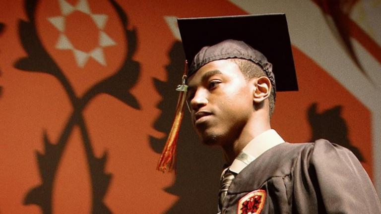 Krishaun Branch at Urban Prep Graduation (Tod Lending / Courtesy POV)