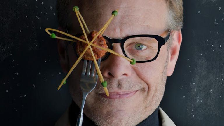 Food Network host Alton Brown
