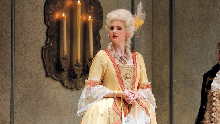 Amanda Majeski (Credit Cory Weaver / Lyric Opera of Chicago)