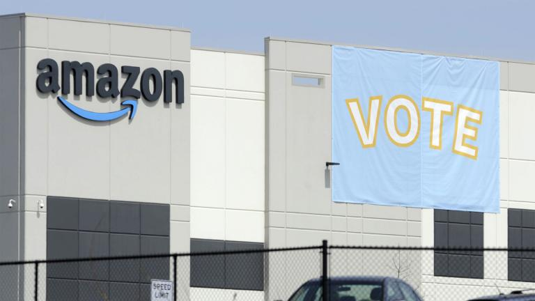 Amazon workers voted against forming a union, Friday, April 9, in Alabama, handing the online retail giant a decisive victory and cutting off a path that labor activists had hoped would lead to similar efforts throughout the company and beyond. (AP Photo / Jay Reeves, File)