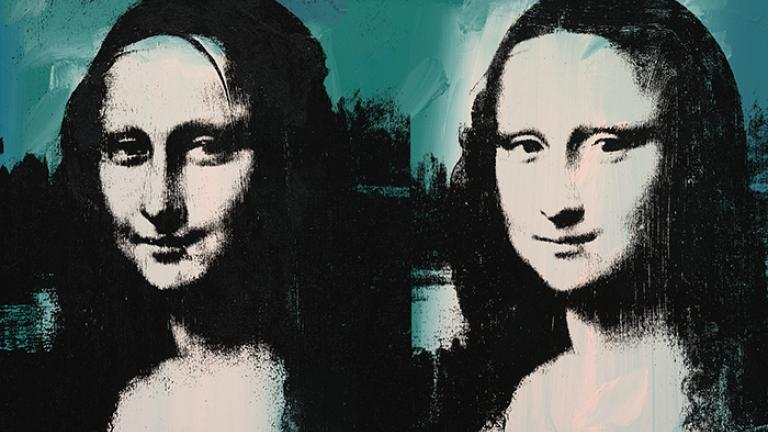 Andy Warhol. Mona Lisa Four Times, 1978. (The Art Institute of Chicago, Gift of Edlis/Neeson Collection. © 2015)