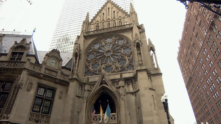 The Archbishop Quigley Center in Chicago. (WTTW News)