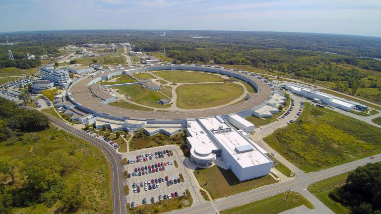 The Advanced Photon Source at Argonne National Laboratory. (Image courtesy Argonne National Laboratory)