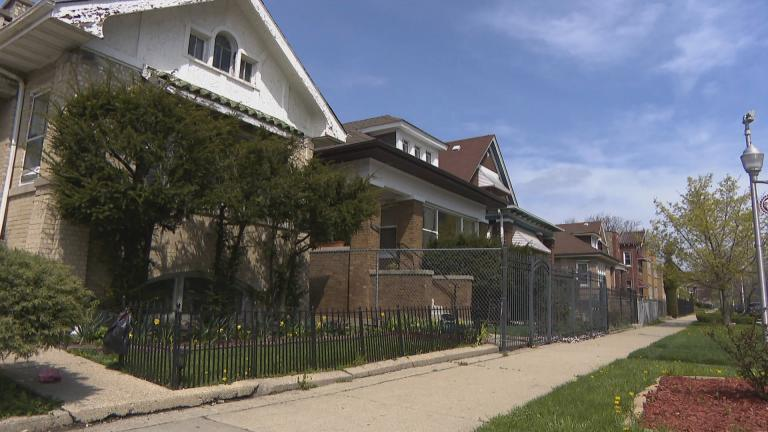 The Auburn Gresham neighborhood of Chicago. (WTTW News)
