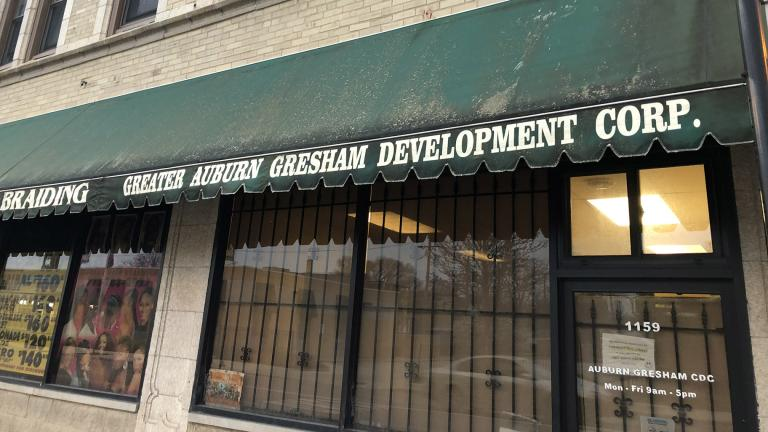 The Greater Auburn Gresham Development Corporation (Quinn Myers / WTTW News)