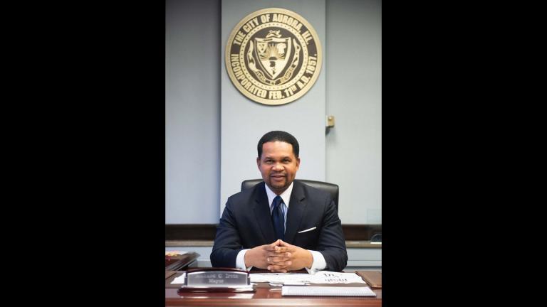 Aurora Mayor Richard C. Irvin (Aurora Mayor's Office)