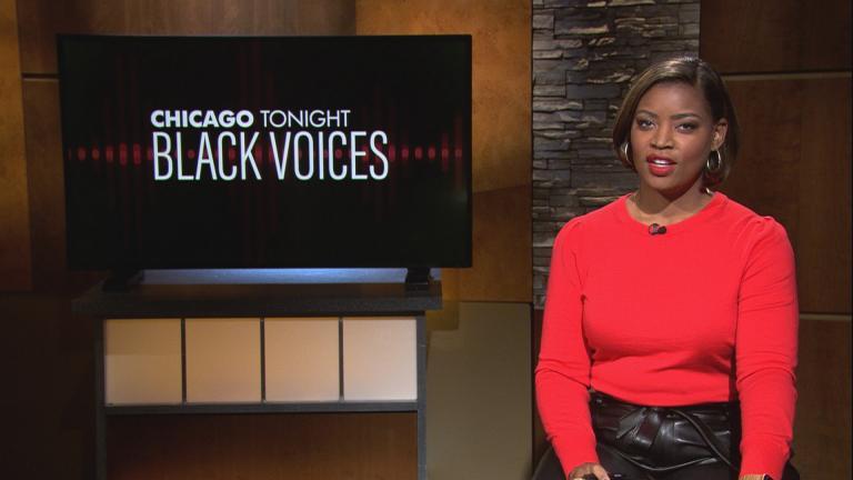 """Brandis Friedman hosts """"Chicago Tonight: Black Voices."""" (WTTW News)"""