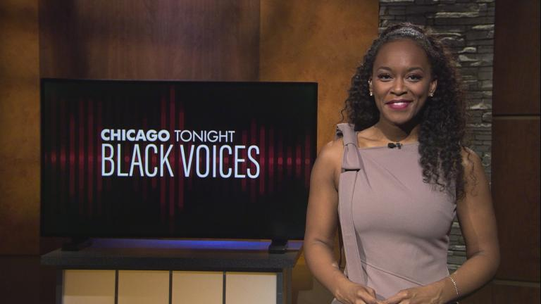"""Angel Idowu hosts the 49th episode of """"Black Voices."""" (WTTW News)"""