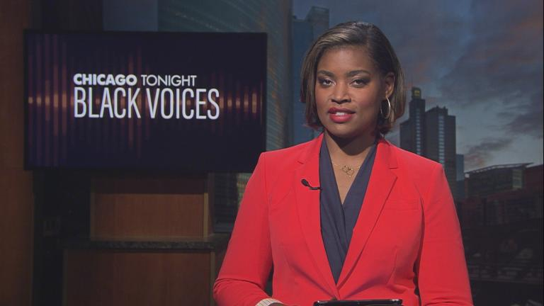 "Brandis Friedman hosts the 50th episode of ""Black Voices."" (WTTW News)"