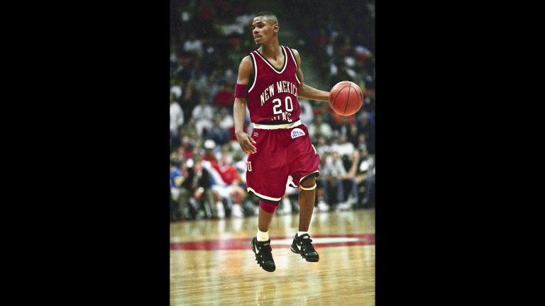 Shawn Harrington (Credit: NMSU and Dennis Daily)