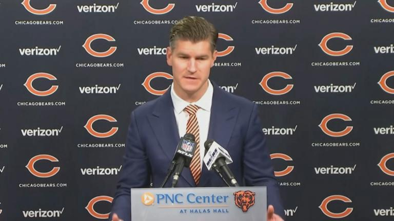 Chicago Bears general manager Ryan Pace (Courtesy Chicago Bears)