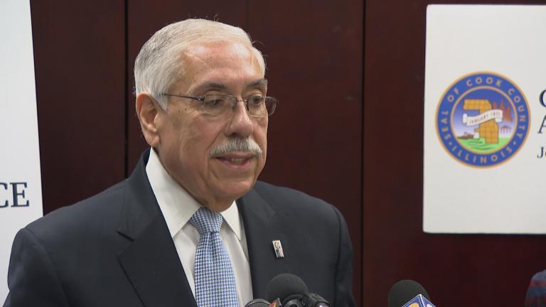 Cook County Assessor Joseph Berrios (File footage / Chicago Tonight)