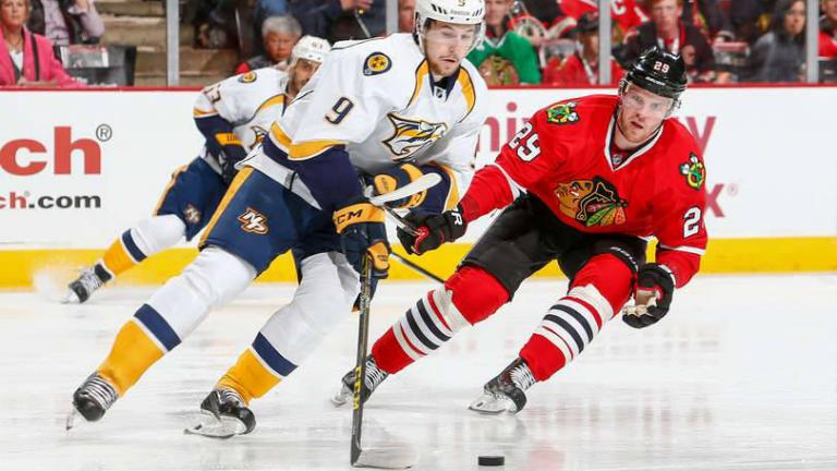 Former Chicago Blackhawks forward Bryan Bickell was recently diagnosed with multiple sclerosis. (Credit: Chicago Blackhawks / Facebook)