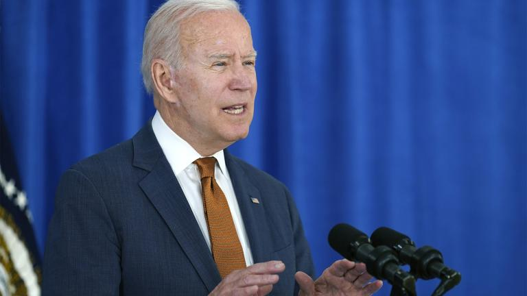 President Joe Biden talks about the May jobs report from the Rehoboth Beach Convention Center in Rehoboth Beach, Del., Friday, June 4, 2021. (AP Photo / Susan Walsh)