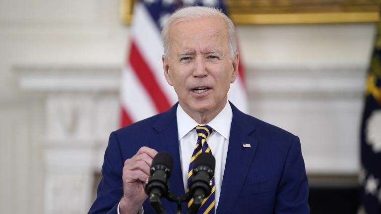 FILE - In this June 18, 2021, file photo, President Joe Biden speaks in the State Dining Room of the White House in Washington. (AP Photo / Evan Vucci, File)