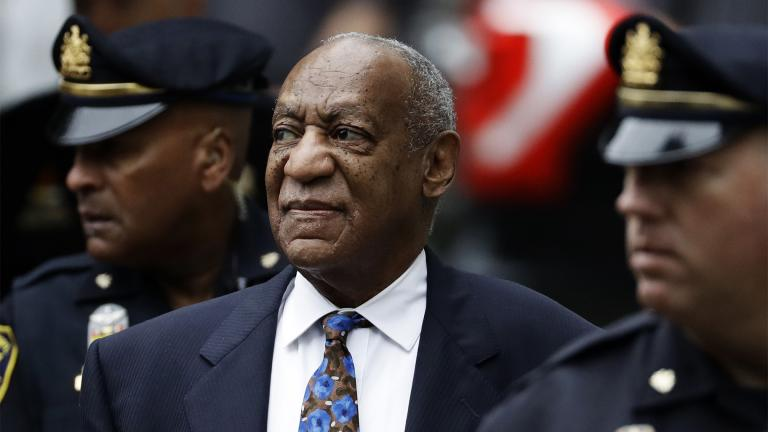FILE - In this Sept. 24, 2018 file photo, Bill Cosby arrives for his sentencing hearing at the Montgomery County Courthouse, in Norristown, Pa. (AP Photo / Matt Slocum, File)