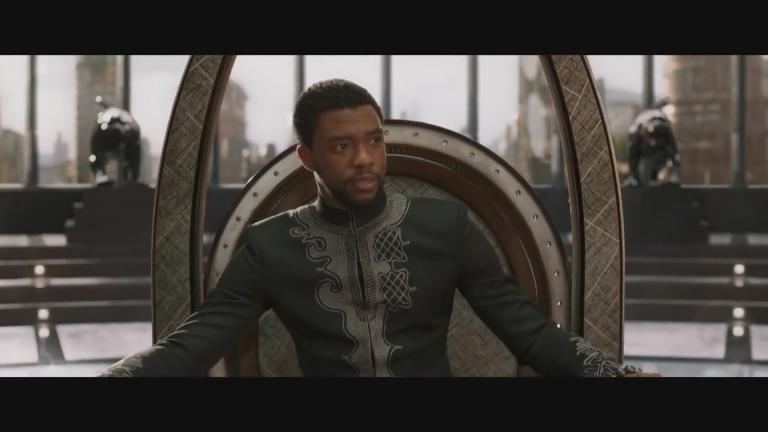 "Still image from ""Black Panther"" (Walt Disney Studios Motion Pictures)"