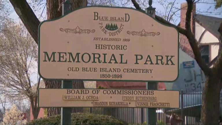 Memorial Park in Blue Island (WTTW News)