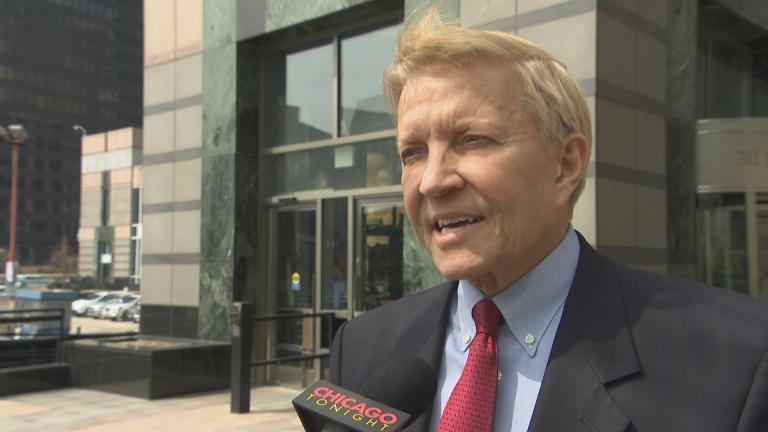 Attorney Bob Fioretti represents the city of Harvey.