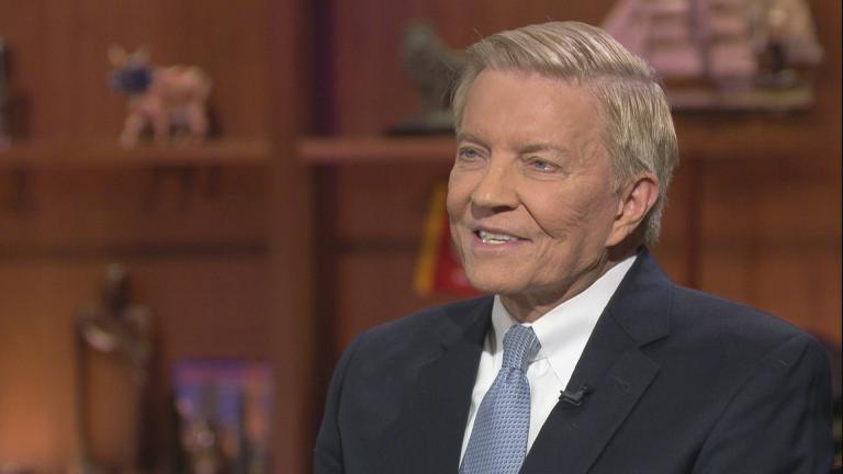 "Chicago mayoral candidate and former Ald. Bob Fioretti appears on ""Chicago Tonight."""