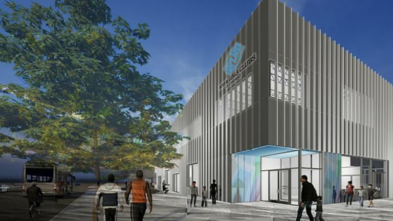 The Boys & Girls Club set to be built as part of the new police and fire training facility is the first new club to be built in Chicago in a generation, officials said. (Credit City of Chicago)