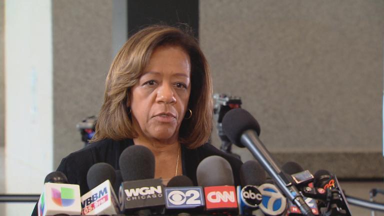 Former CPS CEO Barbara Byrd-Bennett (WTTW News)