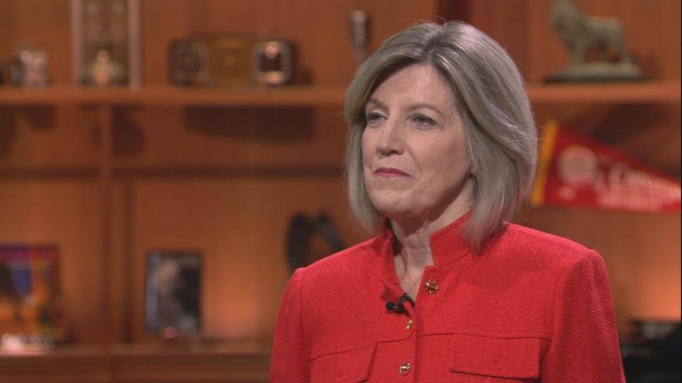 "Retired Illinois Appellate Court Judge Sheila O'Brien appears on ""Chicago Tonight"" on June 24, 2019."