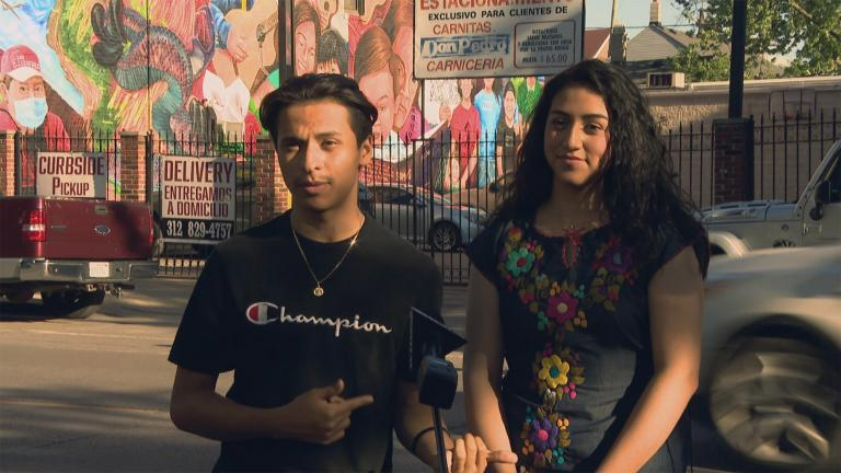 Chicagoans Isabela Ávila and Francisco Villaseñor give us la ultima palabra on how they say anyone – even teenagers – can create the change they want to see in their communities. (WTTW News)