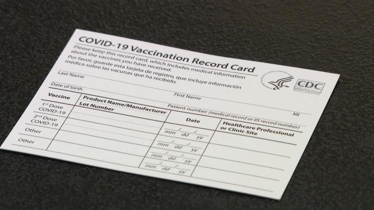 Amid the unveiling of Illinois' Vax Verify system, concerns are raised about the security of the vaccine verification portal. (WTTW News)