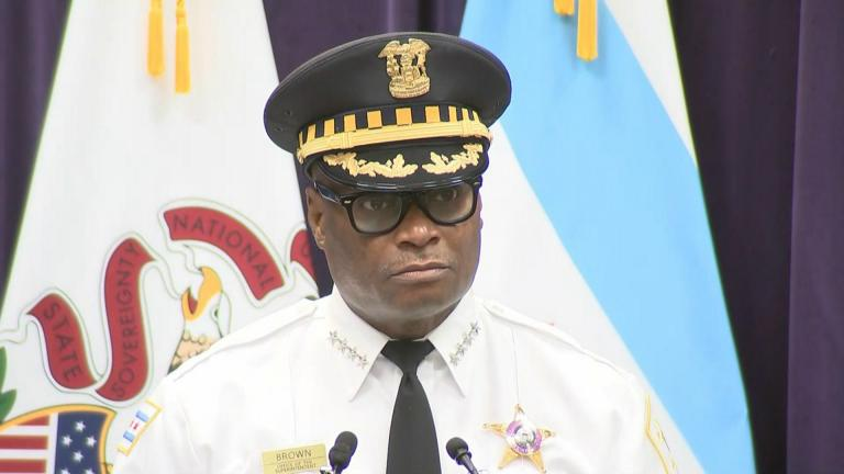 Chicago Police Superintendent David Brown (WTTW News)