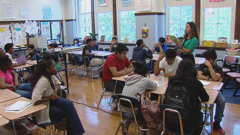 Students at Senn High School could see larger class sizes after CPS cut hundreds of educators and school personnel across the district Friday.