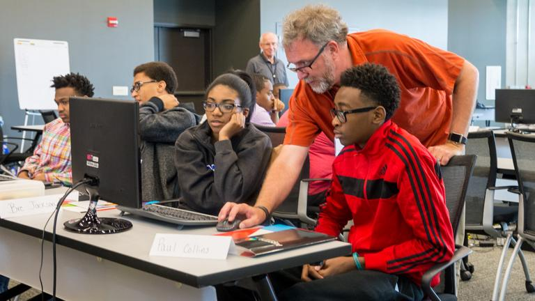 CPS students attended class last year at an average rate of 93.4 percent – a district record. (Argonne National Laboratory / Flickr)