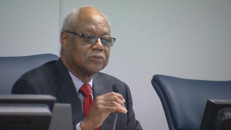 Chicago Board of Education President Frank Clark (Chicago Tonight)