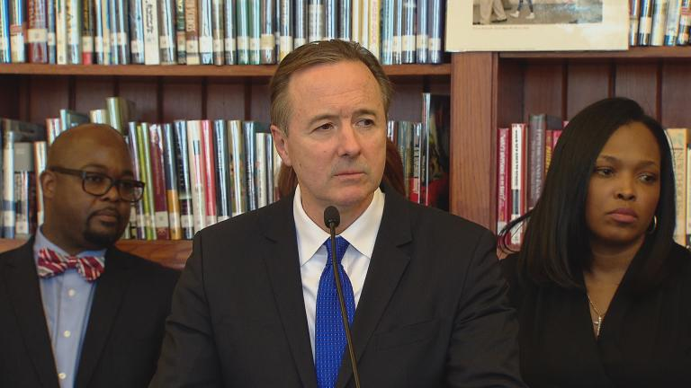 CPS CEO Forrest Claypool (Chicago Tonight)