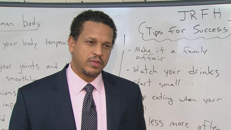 Blaine Elementary Principal Troy LaRaviere
