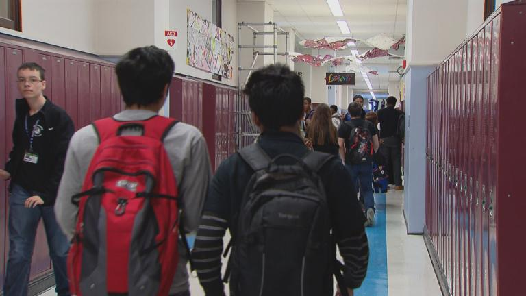 Under a new law recently signed by Governor J.B. Pritzker, students can take up to five mental or behavioral health days off from school, without having to provide a doctor's note. (WTTW News)