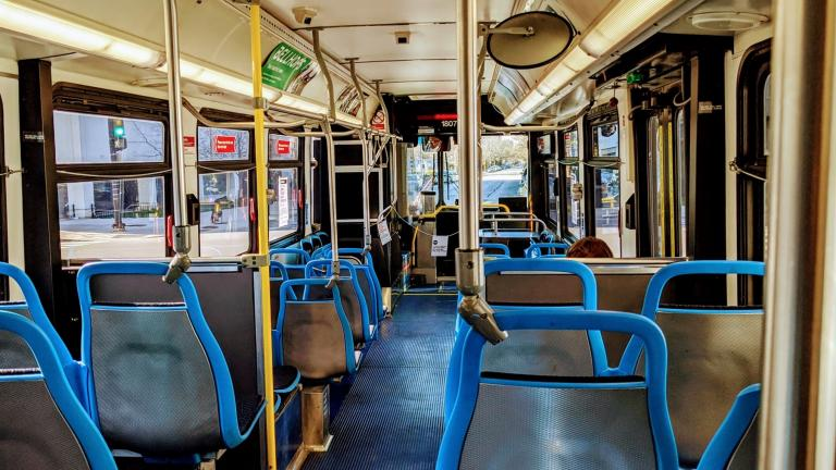 Front-door boarding and regular fare collection returns June 21. (Chicago Transit Authority)