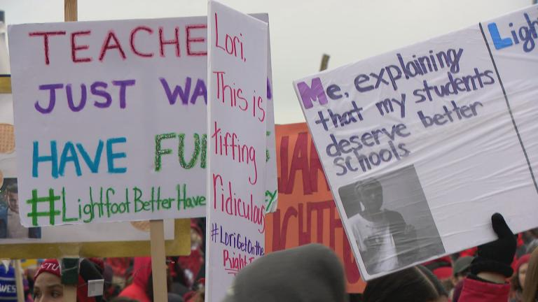 Chicago Teachers Union members ended their strike last month after 11 missed days of class. (WTTW News)