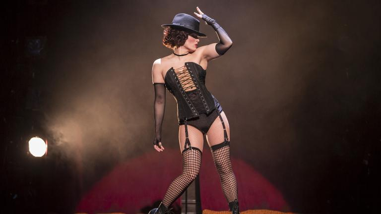 "Kelly Felthous plays Sally Bowles in Paramount Theatre's ""Cabaret."" (Credit: Liz Lauren)"