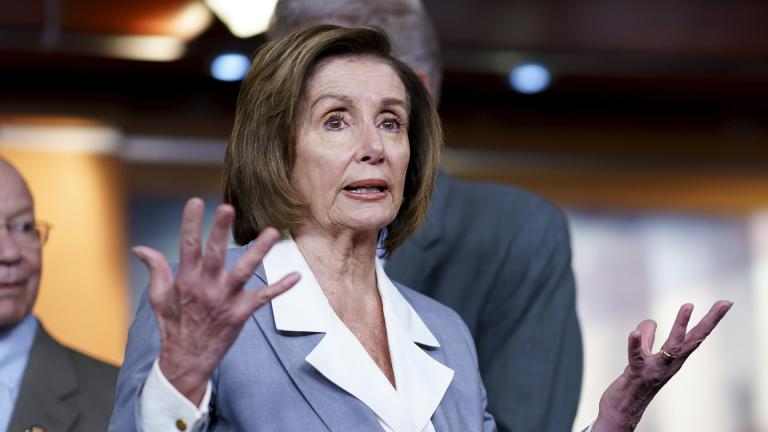 In this June 30, 2021 file photo, Speaker of the House Nancy Pelosi, D-Calif., responds to a question at a news conference as the House prepares to vote on the creation of a select committee to investigate the Jan. 6 insurrection, at the Capitol in Washington. (AP Photo / J. Scott Applewhite, File)