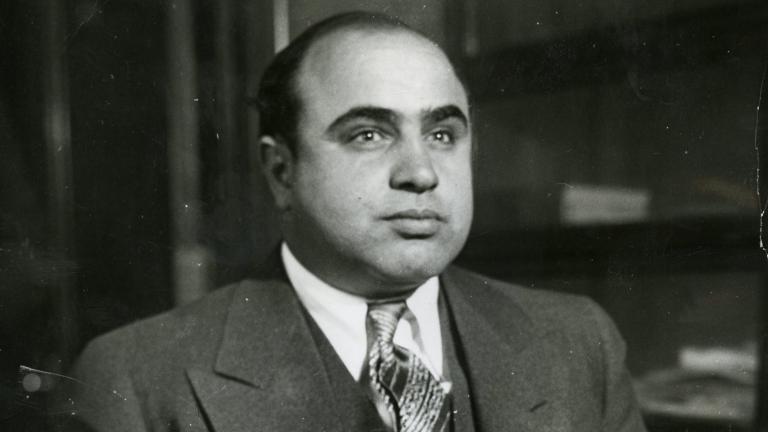 """Al Capone in 1930. (Courtesy """"Al Capone: His Life, Legacy, and Legend"""")"""