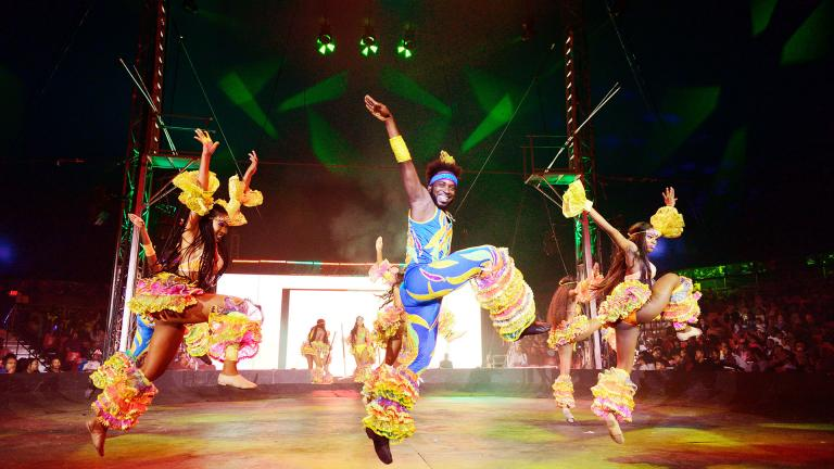 UniverSoul Circus (Photo by Boon Vang)