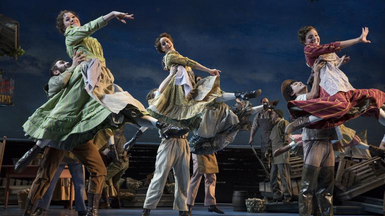 """Carousel"" on Broadway. (Credit: Julieta Cervantes)"