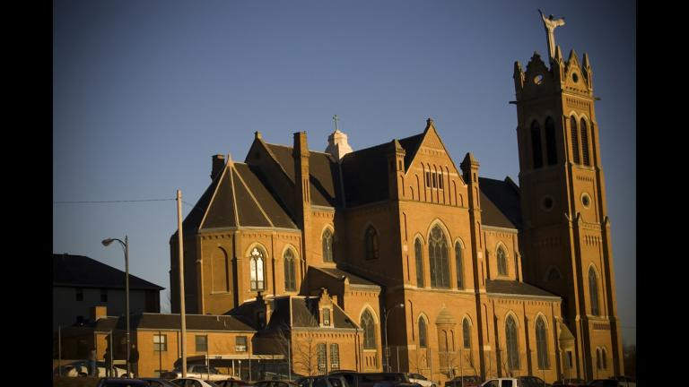 St. Benedict The Moor Church in Pittsburgh, one of six Roman Catholic dioceses that was the focus of two-year grand jury investigation in Pennsylvania. (Trevin Shirey / Flickr)