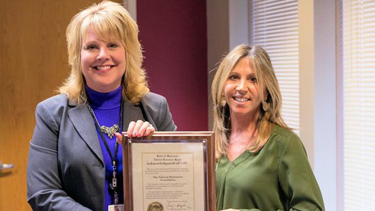 Cathy Stepp, left, former secretary of Wisconsin's Department of Natural Resources, will take over in 2018 as head of the EPA's regional office in Chicago. (Wisconsin Department of Natural Resources)