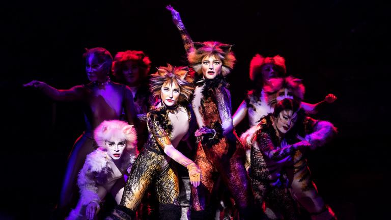 "The North American Tour of ""Cats."" (Photo by Matthew Murphy)"