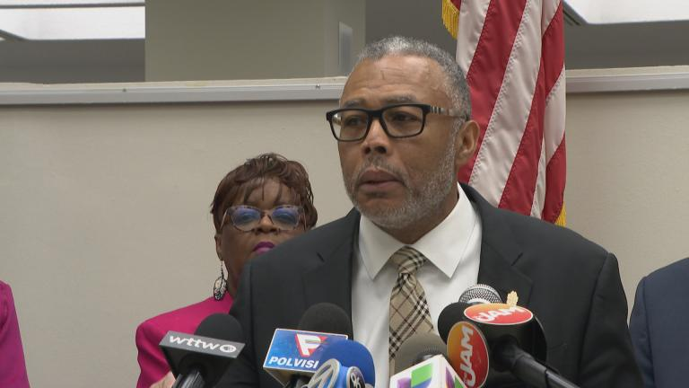 """If you're mad about your school being closed in your neighborhood, be counted. If you're mad about the resources not coming to your community, be counted,"" said Chicago Ald. Howard Brookins Jr., 21st Ward."