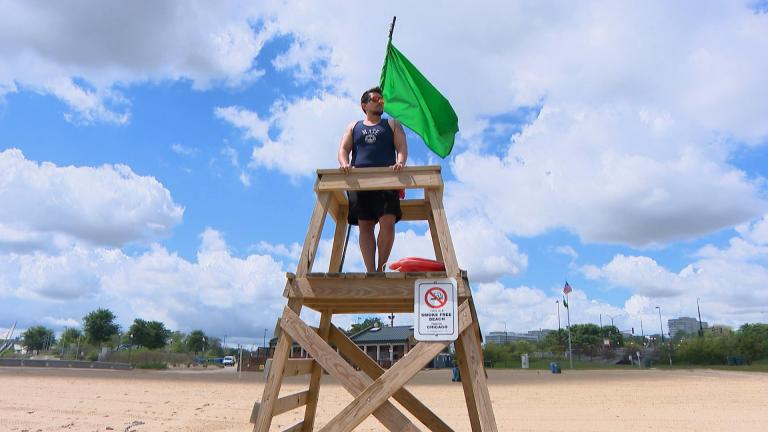 Lifeguards are not at every beach. Not there at all hours nor all times of year. So look into your beach's lifeguard coverage ahead of time. (WTTW News)