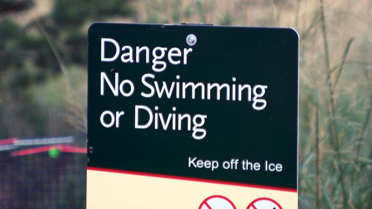 Are safety signs enough? Some activists are calling for life rings along the lakefront. (WTTW News)