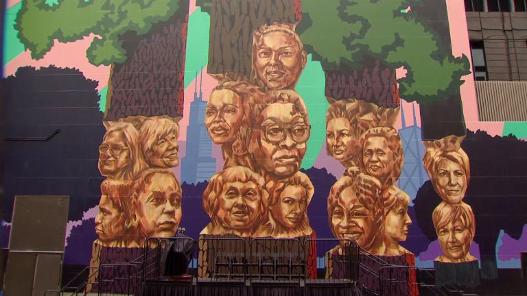 """""""Rushmore"""" by Kerry James Marshall (WTTW News)"""